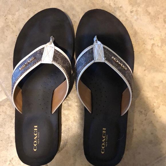 42ddc14c05fb Coach Shoes - Coach Women s Judy Flip Flop size 7.5